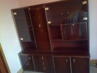 Vintage Wall Unit, Denmor Furniture, London. Circa 1960's, Free