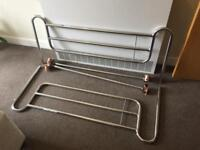 Cot sides for adult bed