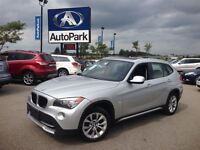 2012 BMW X1 with DRIVE/ HEATED LEATHER SEATS/ PANORAMAIC
