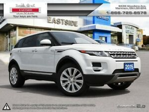 2015 Land Rover Range Rover Evoque One onwer, accident free, lea