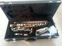 Jupiter Alto Saxophone in black lacquer