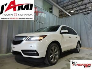 2014 Acura MDX Elite Package GPS DVD CUIR