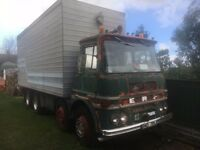 For Sale - 1971 ERF A Series 8 wheeler