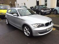 BMW 118D SPORT 2.0 DIESEL 3 DOOR 2008 (58) FACELIFT LOW MILEAGE VERY CLEAN HPI CLEAR
