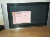 "37""sony plasma television(with free view)and wall bracket"