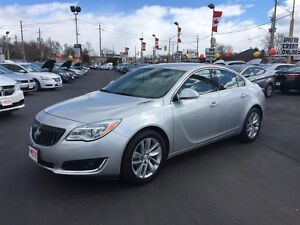 2015 BUICK REGAL TURBO - REAR VIEW CAMERA, LEATHER HEATED SEATS,