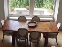Oak Dining table for 8 seater