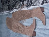 River Island Knee High Boots - Size 6