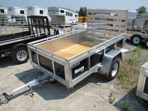 2016 Mission Trailers 5x8 Aluminum Utility Trailer