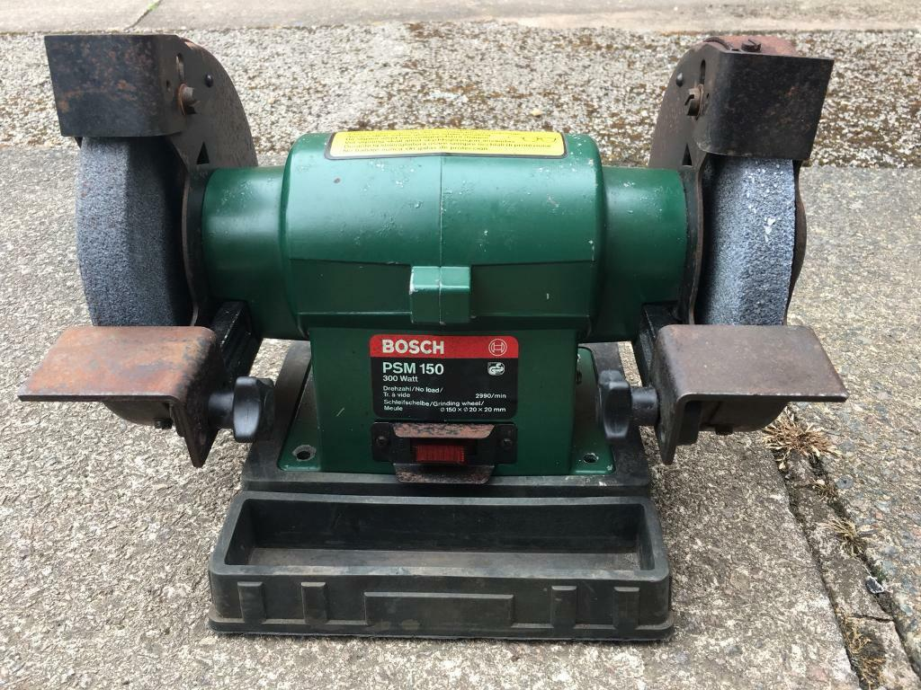 Excellent Bosch Psm 150 Bench Grinder 150Mm 6 Inch Wheel Diameter 240V In Blaby Leicestershire Gumtree Gmtry Best Dining Table And Chair Ideas Images Gmtryco