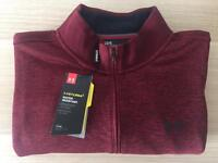 1/4 Zip Under Armour Sweater/Fleece (Large BNWT)