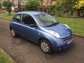 Nissan Micra 1.2 16v S 3dr, p/x welcome 6 MONTHS FREE WARRANTY
