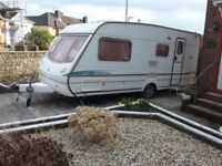 Abbey Vogue GTS 416 touring caravan. 2003. Very good condition. Extras included.