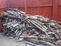 Fire wood log burner joblot