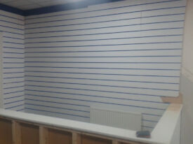 SHOP SLATBOARD DISPLAY BOARDS---8x4 plus various sizes MUST GO cheap