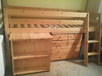Bed frame.Brand new matching mattress availabe for extra cost