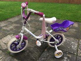 Girls 12inch Raleigh bike