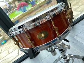 Noble & Cooley 14x5 Solid Shell Maple Snare Drum.