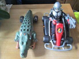 action man go kart and crocodile mission