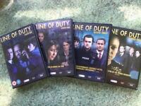 Line of Duty DVD'S series 1-4