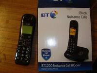 BT CORDLESS PHONE IN BOX UNUSED.