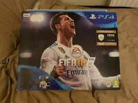 New & Sealed PlayStation 4 Slim 500gb with Fifa 18
