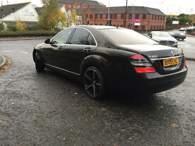 Mercedes S320 2009 Black New Tyres