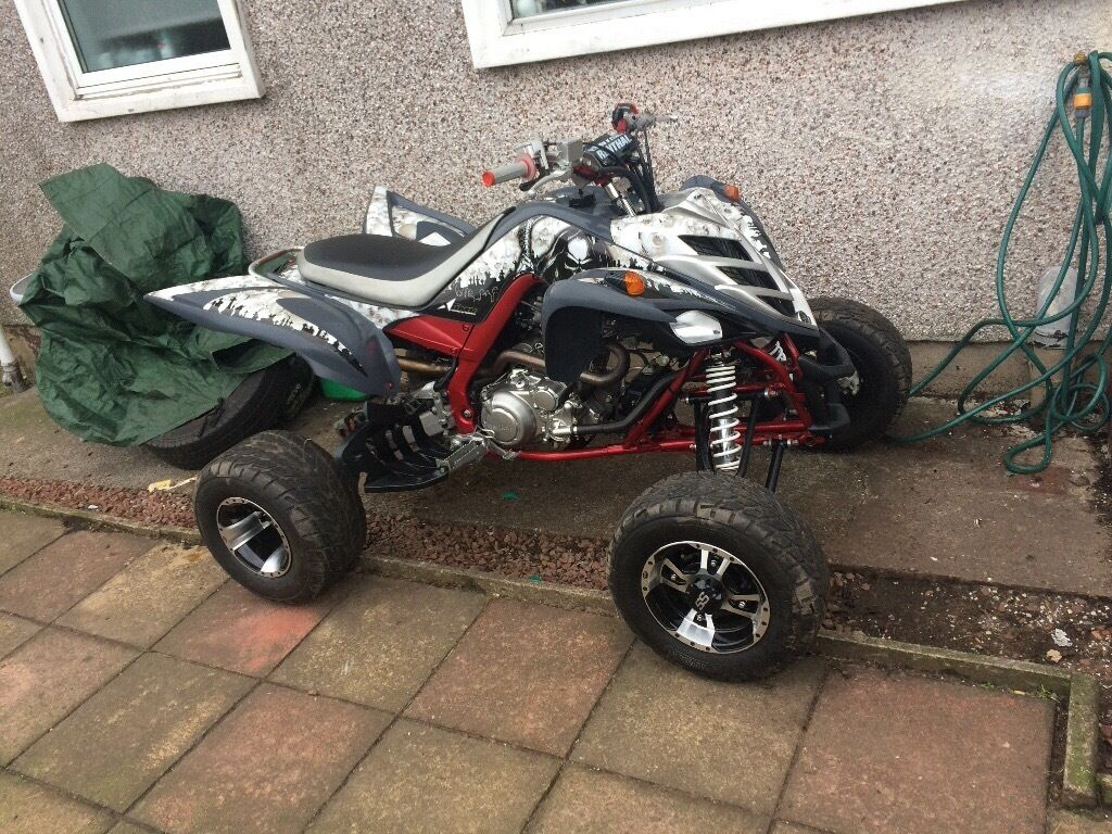 Yamaha raptor 700 road legal in glasgow gumtree for Yamaha raptor 50cc