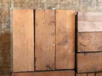 "Reclaimed Parquet Floor Flooring Hardwood Blocks 9"" x 3"""