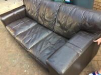 Leather sofas 2&3 seater
