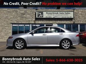 2004 Acura TSX Base wither leather heated seats  powersunroof