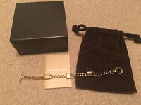 Brand new 100% authentic Michael Kors mini padlock bracelet