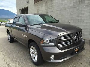 2014 Ram 1500 Sport Crew Cab w/8.4 Screen, 6.4 box