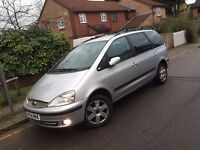 Ford Galaxy Ghia 2.3 Auto 2004,New 12 months MOT&Serviced,96k,Service Hist,1 Owners,HPI Clear £1495
