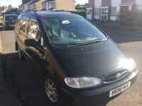 1999 AUTOMATIC DIESEL FORD GALAXY 7 SEATER LONG MOT £695 O-N-O