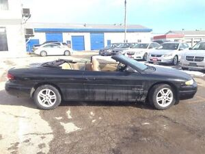 1997 Chrysler Sebring JXi / CONVERTABLE / LEATHER / LOADED / ALL