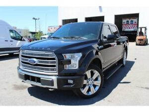 2016 Ford F-150 LIMITED+4WD+NAVI+CAMERA+CUIR+TOIT PANO+++