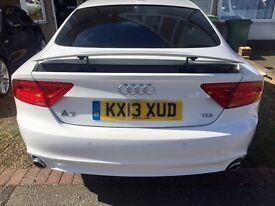 Audi A7 white 2013 low mileage, full service history, still under Audi warranty!