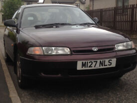 1994 Mazda 626 LX, 1.8 litre, No rust, new parts, good tryes, over 6 months MOT: £500
