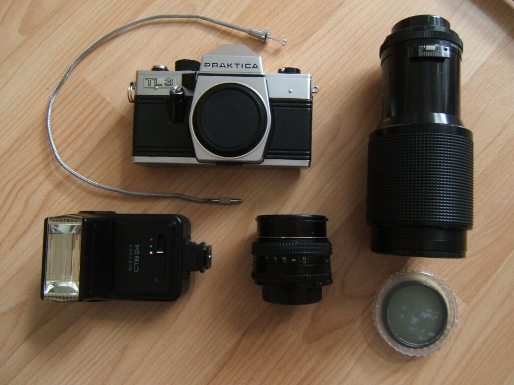 Praktica camera outfit in southside glasgow gumtree