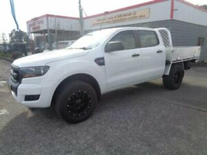 2017 Ford Ranger PX MkII MY17 XL 3.2 (4x4) White 6 Speed Automatic Crew Cab Chassis Sandgate Newcastle Area Preview
