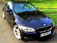 ★6 MONTHS WARRANTY★ 2011 BMW 3 SERIES 320i M SPORT COUPE 2.0 ★ FACE LIFT E92 ★ 12 MONTHS MOT ★
