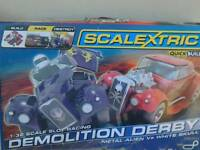 Scalextric demolition derby
