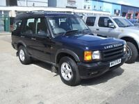 2000 LAND ROVER TD5 DISCOVERY GS MODEL 4X4 HALF LEATHER ALLOY WHEELS AIR CON PX POSSIBLE