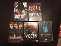 Bundle of horror/thriller dvds