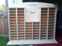 Display cabinet for model cars, ornaments, thimbles for sewing,