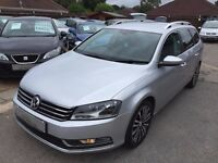 2011/11 VOLKSWAGEN PASSAT 2.0 TDI BLUE MOTION TECH SPORT 5 5DR, SILVER,HIGH SPEC,LOOKS & DRIVES WELL