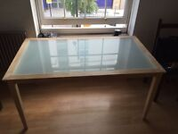 ++BARGAIN++GLASS DINING TABLE WITH COFFEE TABLE