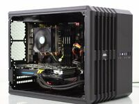 Gaming pc Watercooled i5/8GB/GTX 970/128GB SSD/2TB HDD/Corsair carbide+extras