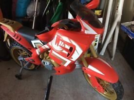 Power rangers motor bike